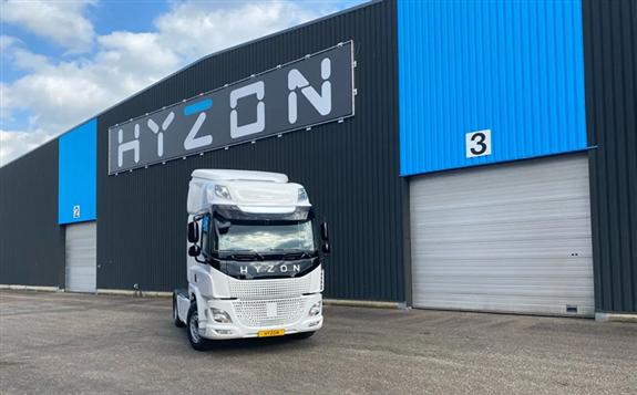 Image Credits: Hyzon Motors