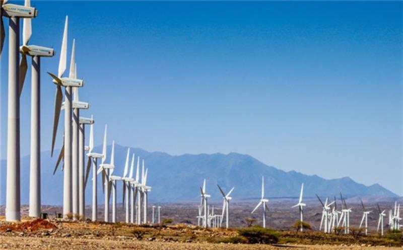 The Lake Turkana Wind Power farm in Loiyangalani District, Marsabit County PHOTO   COURTESY