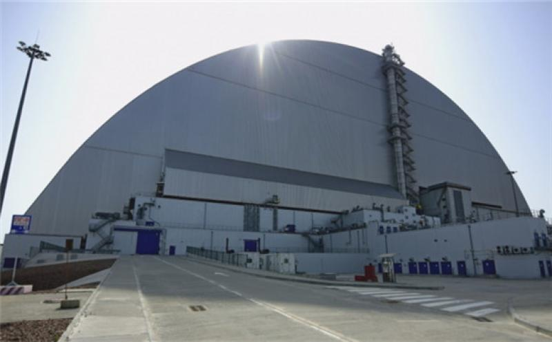 The Chernobyl New Safe Confinement (Image: Chernobyl NPP)