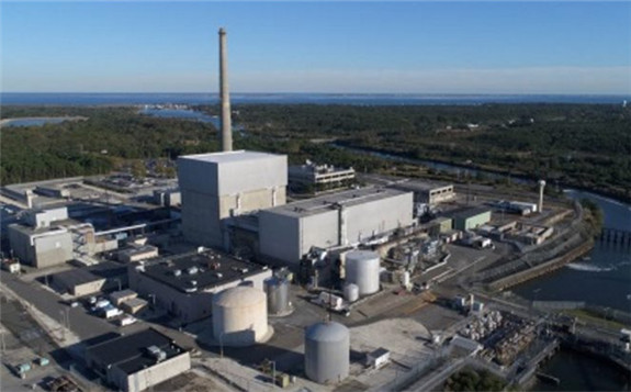 All fissile material has now been removed from Oyster Creek's reactor building (Image: Exelon)