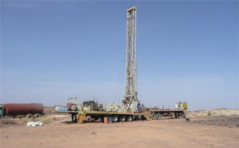 Drilling at Dasa (Image: Global Atomic)