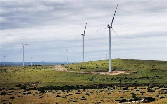 Wesley-Ciskei Wind Farm near Hamburg in the Eastern Cape. Image: Supplied.