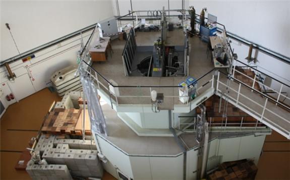 Slovenia's TRIGA II reactor platform (Image: Jožef Stefan Institute)