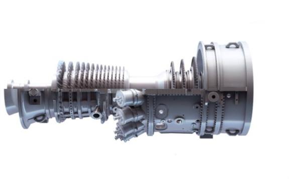 9F gas turbine: Credit: GE