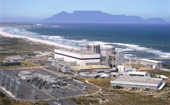 Koeberg Nuclear Power Station. Image: Eskom.