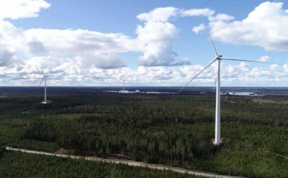 Lyngsåsa wind farm. Credit: BayWa r.e