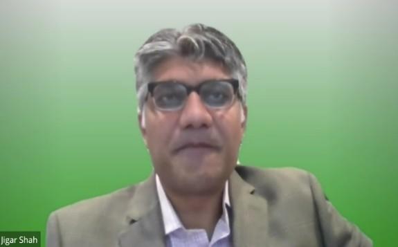 Jigar Shah speaking yesterday