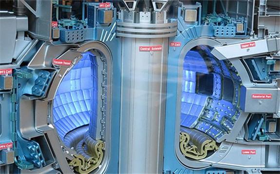 ITER exhibit. Photo : Wikimedia, IAEA Imagebank
