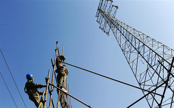 China establishes electricity equipment company through a merger. /CFP