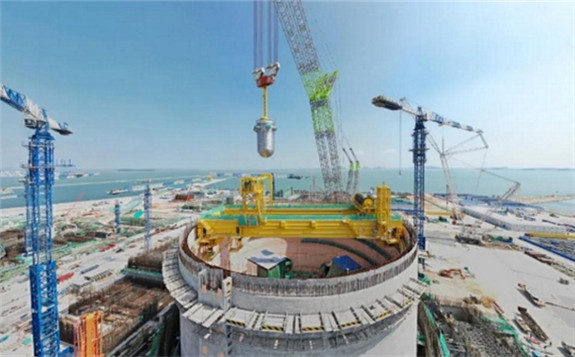 Pressure Vessel in Place at Zhangzhou 1